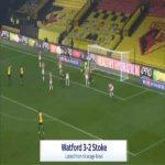 Watford [3]-2 Stoke - Ismaila Sarr 90'+3'