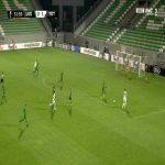 Ludogorets 0 - [2] Tottenham - Lucas 32'