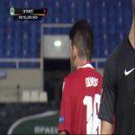 Michal Ďuriš (Omonia) second yellow card vs. Granada (41')