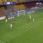Benevento 0-2 Spezia - M'Bala Nzola 65'