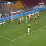 Benevento 0-3 Spezia - M'Bala Nzola 70'