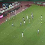 V-Varen Nagasaki (1)-0 Machida Zelvia - Masaru Kato amazing long shot goal