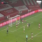 Arsenal 0 - [1] Aston Villa - Bukayo Saka (OG) 25'