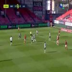 Brest 1-0 Lille - Ronael Pierre-Gabriel 15'
