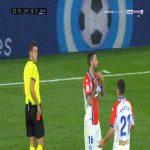 Edgar Mendez (Alaves) weird second yellow card against Levante 34'