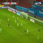 Leverkusen [2]-2 Monchengladbach - Lucas Alario 41'