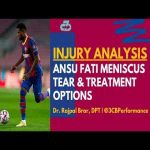 [OC] Ansu Fati injury analysis | Explaining his meniscus tear, treatment options, & if there's any worry over long-term effects/career impact