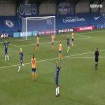 Pernille Harder's exquisite finish v Everton (great goal)