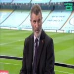 "Roy Keane on Foden and him calling Micah Richards world class: ""It's not a case for a 20-year-old saying to a coach this is where I think my favourite position is, you play where the coach tells you to play... The stuff he said about Micah, he probably needs to be drug tested for that"""