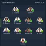 SofaScore Brasileirão team of the week