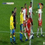 Bernardo (Girona) second yellow card against Las Palmas 90'+4'