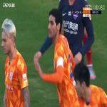 Shandong Luneng (1)-0 Chongqing Lifan - Marouane Fellaini goal