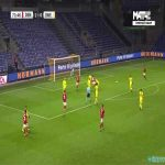 Denmark 2-0 Sweden - Alexander Bah 74'