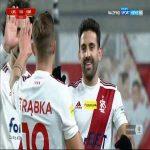 ŁKS Łódź 1-0 Korona Kielce - Pirulo 14' (Polish I liga)