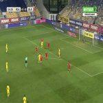 Romania 5-0 Belarus - Ionut Nedelcearu 55'