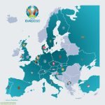After the last four qualifying matches yesterday, here's a complete map of UEFA Euro 2020 participating teams