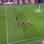 Edu Campabadal (Lugo) straight red card against Albacete 40'