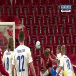 Denmark 1-0 Iceland - Christian Eriksen penalty 11'
