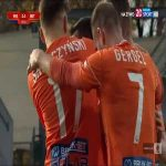 Miedź Legnica 2-[3] Bruk-Bet Termalica Nieciecza - Martin Zeman FK 77' (Polish I liga)