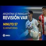 VAR dialogue of Messi's overturned goal vs Paraguay