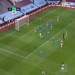 Aston Villa [1]-1 Brighton - Ezri Konsa 46'