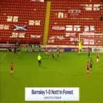 Barnsley 1-0 Nottingham Forest - Callum Styles 86'