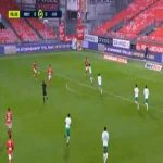 Brest 1-0 Saint-Etienne - Franck Honorat 7'