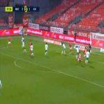 Brest [4]-1 Saint-Etienne - Steve Mounié 38'