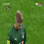 Egor Sorokin (Krasnodar) second yellow card against Tambov 60'