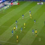 Hertha Berlin 1-[4] Dortmund - Raphael Guerreiro 70'
