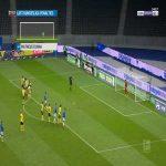 Hertha Berlin [2]-4 Dortmund - Matheus Cunha penalty 79'
