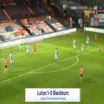 Luton 1-0 Blackburn - Luke Berry 69'