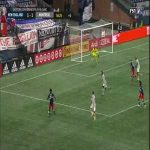 New England Revolution [2]-1 Montreal Impact - Gustavo Bou 90+5' - MLS Playoffs - great goal!