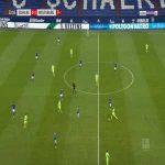 Schalke 0-2 Wolfsburg - Xaver Schlager 24'