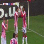 Stoke City [2]-1 Huddersfield: Campbell