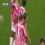 Stoke City [4]-2 Huddersfield: Clucas 57'
