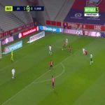 Lille 4-0 Lorient - Jonathan David 90'