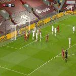 Liverpool [1] - 0 Leicester - Jonny Evans (OG) 21'
