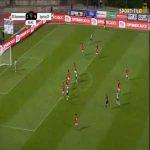 Sacavenense 1-[5] Sporting - Pedro Marques 86'