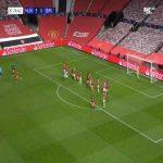 Manchester Utd 3-[1] Basaksehir - Deniz Turuc free-kick 75'