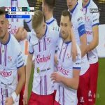 Podbeskidzie Bielsko-Biała 1-0 Zagłębie Lubin - Mateusz Marzec 23' (Polish Ekstraklasa)