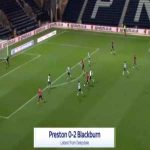 Preston 0-2 Blackburn - Ben Brereton 53'