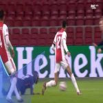 Ajax 3-[1] Midtjylland - Awer Mabil penalty 80' (+ call)