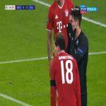 Dominik Szoboszlai (Red Bull Salzburg) miss vs. Bayern München (35')