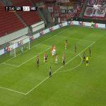 Bayer Leverkusen [3]-1 Hapoel Beer Sheva - Kerem Demirbay free-kick 76'
