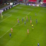 Braga [2]-1 Leicester - Paulinho 24'