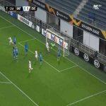 Gent 0-1 Crvena Zvezda - Njegos Petrovic great strike 1'