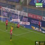 Strasbourg 1-0 Rennes - Adrien Thomasson 24'
