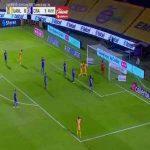 Tigres 1-1 Cruz Azul - Guido Pizarro 46'
