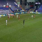 Tranmere 1-0 Brackley Town - Kaiyne Woolery 67'